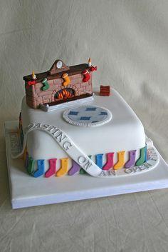 Cake Wrecks - Home - Sunday Sweets: SnowDay:  Christmas cake