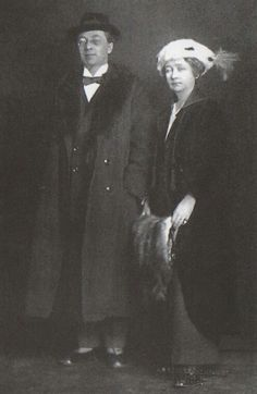 Wassily Kandinsky and Gabriele Münter in Stockholm, Winter 1916