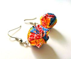 Modular Origami Earrings