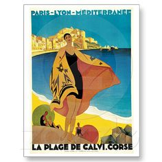 La Plage de Calvi, Corse Postcards at Zazzle.ca