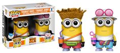 Despicable Me 3 - Dave And Jerry 2 Pack - figurine  POP! Animation