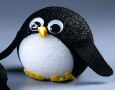 Kid's penguin craft:  Mr. Popper's Penguin Family