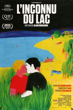 """Stranger by the Lake (2013) Canadian One Sheet Movie Poster - 24"""" x 36"""""""