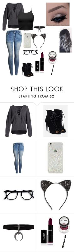 """""""Untitled #57"""" by alondra-lemus909 ❤ liked on Polyvore featuring Vince, JustFab, ban.do and Cara"""