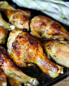 Marinated Baked Chicken Drumsticks