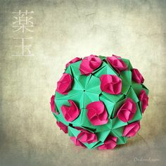 Beautiful kusudama