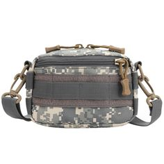 Multi-function Waterproof High Density Strong Nylon Fabric Horizontal Style Toolkit / Accessories Bag(Camouflage)