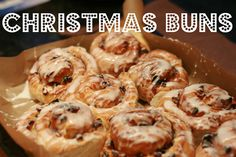 Christmas buns! from Food, unplugged