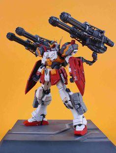 GUNDAM GUY: MG 1/100 Gundam Heavyarms - Customized Build