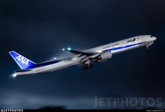 All Nippon Airways (ANA) Boeing (registered Ana Airlines, Boeing 777 300, Air Photo, Airbus A380, Commercial Aircraft, Civil Aviation, Private Jet, Photo Online, Airplane