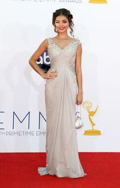 Sarah Hyland wearing a Marchesa- Emmy 2012