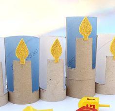 candele xon rotoli di carta - Cerca con Google