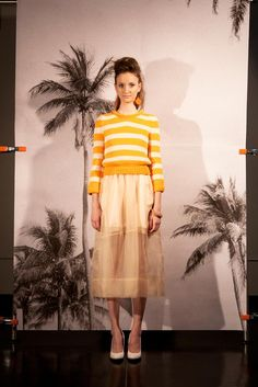 Chris Benz Resort 2013 collection.