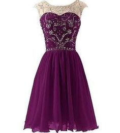 short purple prom dresses - Google Search