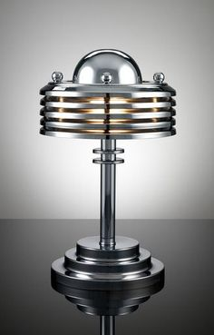 Ellegant! erry Tynan machine age art deco lamp. Learn about your collectibles…