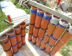 Beton - Palisaden selber bauen oder Säulen Palisaden,Stützen,Säulen