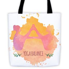 Yoga Balance Tote bag All-Over Tote