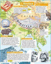 L'Himalaya - Mon Quotidien, le seul site d'information quotidienne pour les 10-14 ans !