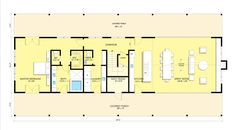 Farmhouse Style House Plan - 3 Beds 3.5 Baths 3374 Sq/Ft Plan #888-15 Floor Plan - Main Floor Plan - Houseplans.com