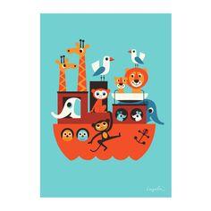 Bei Nostalgie im Kinderzimmer finden Sie die herrlich bunte Auswahl von OMM Design Poster, die Kinderaugen zum Leuchten bringen, hier entdecken!