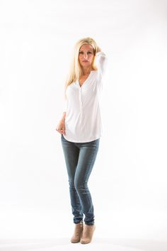 Mya Iconic Skinny Jean, in Cloud by Articles of Society – Two Elle's Boutique