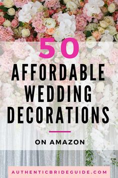 These are the absolute best tips for having a beautiful wedding on a budget! Read how it's possible to have a frugal wedding! Wedding Planning Tips, Wedding Tips, Wedding Events, Dream Wedding, Wedding Decorations On A Budget, Wedding Centerpieces, Budget Wedding Hacks, Weddings On A Budget, Church Weddings