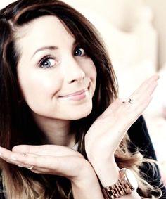 She is beautiful zoella