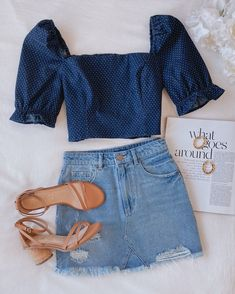 Girls Fashion Clothes, Teen Fashion Outfits, Girly Outfits, Cute Casual Outfits, Outfits For Teens, Pretty Outfits, Stylish Outfits, Summer Outfits, Mode Pastel