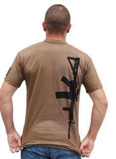 AR15 Military Shirt