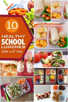 10 Healthy School Lunch Ideas - Spaceships and Laser Beams