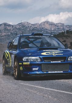 Subaru WRC rally car