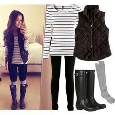 Outfit b&n