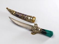 オスマントルコ Dagger Knife, Axe, Precious Metals, Weapons, Carving, Gemstones, Jewels, Antiques, Pretty