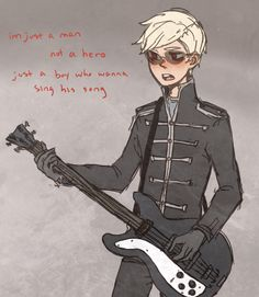 welcome to the black parade by ~davesexual on deviantART THIS IS CAUSING ME EMOTIONAL DISTRESS.