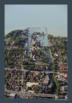 From above, Siofok, Hungary - Europe. Heart Of Europe, City Photo, Journey, Hungary, Travel, Places, The Journey