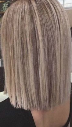 Hair Color Balayage, Hair Highlights, Blonde Color, Hair Colour, Short Straight Hair, Straight Hairstyles, Blonder Afro, Curly Hair Styles, Natural Hair Styles