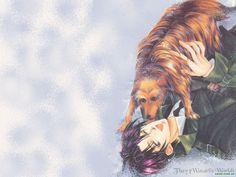 Tsuzuki and Dog