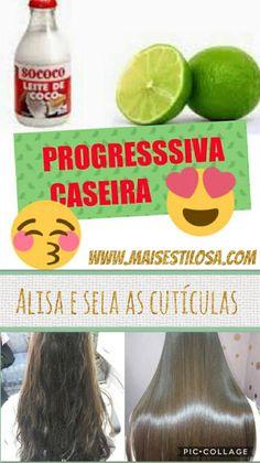 PROGRESSIVA CASEIRA SUPER FÁCIL DE FAZER: Aprenda o passo a passo!