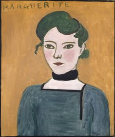 In 1907, #Matisse & #Picasso exchanged works. Picasso chose this portrait of Matisse's daughter Marguerite at age 13