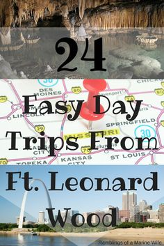 24 Easy Day Trips From Ft. Leonard Wood July 5, 2016 by Kara / Leave a Comment