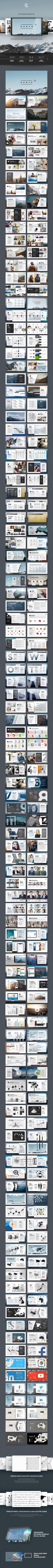 Earth PowerPoint — Powerpoint PPTX #best #business plan • Available here ➝ https://graphicriver.net/item/earth-powerpoint/20836318?ref=pxcr
