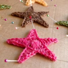 Learn how to crochet a star with this easy step by step photo tutorial. Plus a bonus blocking tutorial at the end.