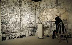 Satoshi Komatsubara: drawing