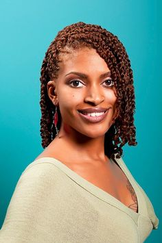 Two Strand Twists with a Stunning Hair Color…. | Black Women Natural Hairstyles