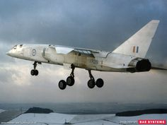 British - BAC TSR-2 - Was a Cold War Strike and Reconnaissance Aircraft - 23 (including) 2 Static Fatigue Test Air-Frames, were Ordered but not all Were Completed, Only 1 Flew