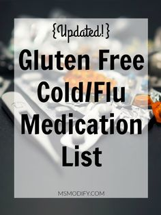 Gluten-free cold / flu medication list Source by Gluten Free Food List, Gluten Free Diet Plan, Lactose Free Diet, Best Gluten Free Recipes, Foods With Gluten, Gluten Free Cooking, Vegan Gluten Free, Dairy Free, Gluten Free Products