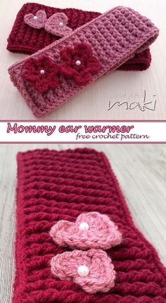 Last week my friend called me and asked if I can make an ear warmer for her mom…. well of course I can heheheh I wanted it to be thick, warm and stretchy and I think I did a great job! 🙂 She liked it so much that she ordered two more…. Crochet Headband Free, Crochet Beanie, Crochet Yarn, Free Crochet, Crochet Flowers, Crocheted Headbands, Crochet Crafts, Crochet Projects, Crochet Ear Warmer Pattern