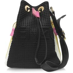 aeca8d15bedb Kenzo Handbags Kenzo Kombo Black Bucket Bag ( 565) ❤ liked on Polyvore  featuring bags