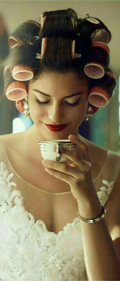 Cute picture for the tea loving bride