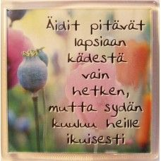 Äidit pitävät lapsiaan... mietemagneetti 1,95€ Finnish Words, Life Advice, Diy And Crafts, Knowledge, Mindfulness, Wisdom, Messages, Thoughts, Motivation